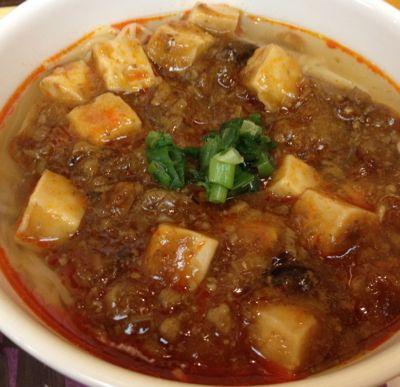 四川辣油 麻婆豆腐麺
