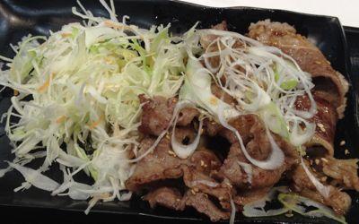 牛カルビ定食 メイン