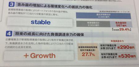 日本ロジスティクスファンド投資法人 保守的な財務方針