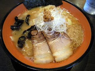 行徳屋 納豆 味噌ラーメン 南区 野間 福岡市
