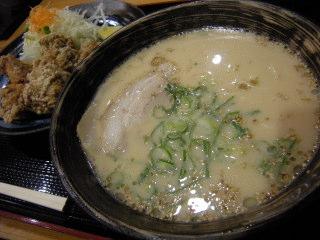 福岡市 早良区 小田部 ふくの湯 ラーメン