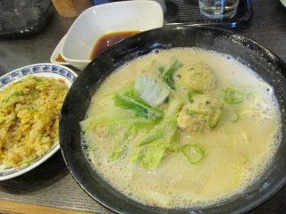 福岡 中央区 FBS ラーメン 鶴と亀