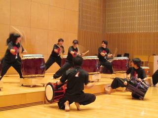 福岡大学 和太鼓 鼓舞猿
