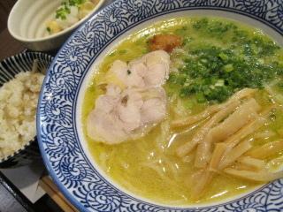 福岡 赤坂 鶏白湯 カレーラーメン