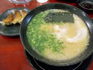 福岡 須恵町 ラーメン 博龍 餃子