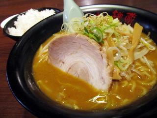 福岡 ラーメン 味噌 カレー 博多区 板付 北の麺蔵