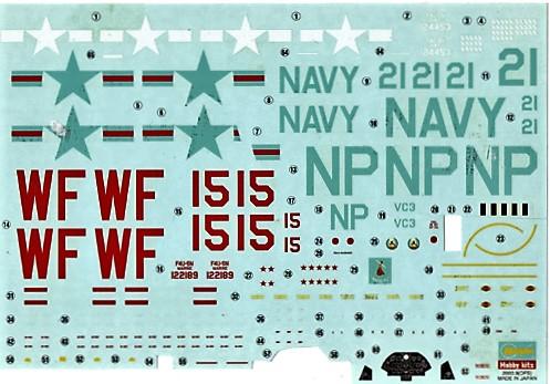 148 F4U-5N DECAL-S