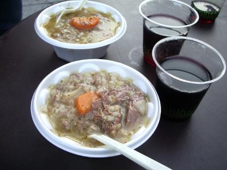ラム肉と野菜の煮込み