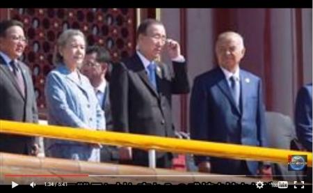 """【動画】""""国連総会""""で潘基文が『凄まじく性根の腐った演説』を世界に公開。お前が言うか!とツッコまれまくり [嫌韓ちゃんねる ~日本の未来のために~ 記事No5338"""