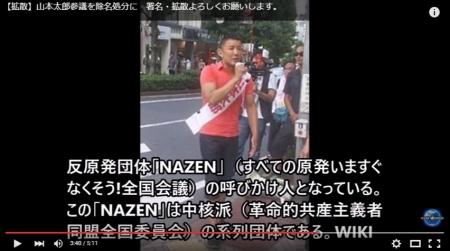 【KSM】山本テロリンQ太郎参議院議員の支持団体が酷すぎる件について中核派の「広告塔」 - YouTube