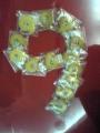 9条クッキー 文字