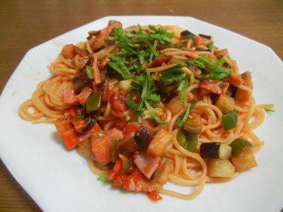 あさイチ風スパゲッティ