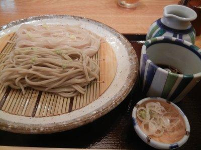 蕎麦に山葵、冷麦に生姜