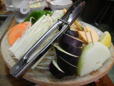 野菜のバター焼き