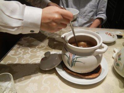 季節の健康スープ(豚・干山芋・クコ)