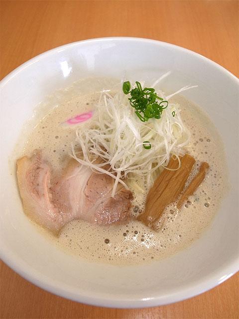 150712吉風-鶏豚骨ラーメン