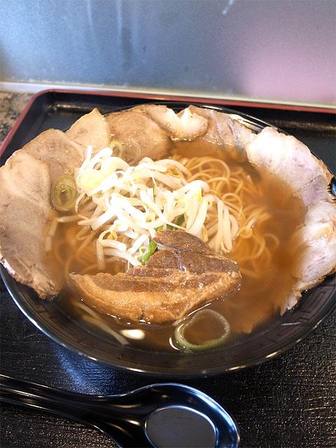 150430焼豚キッチン-チャーシュー麺しょうゆ味