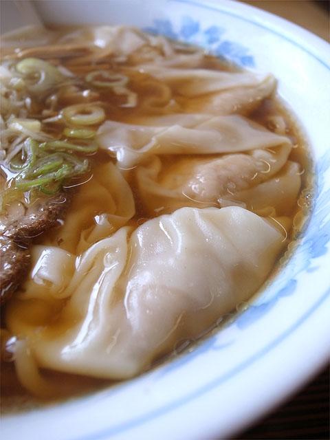 150501味龍-ワンタン麺・ワンタン