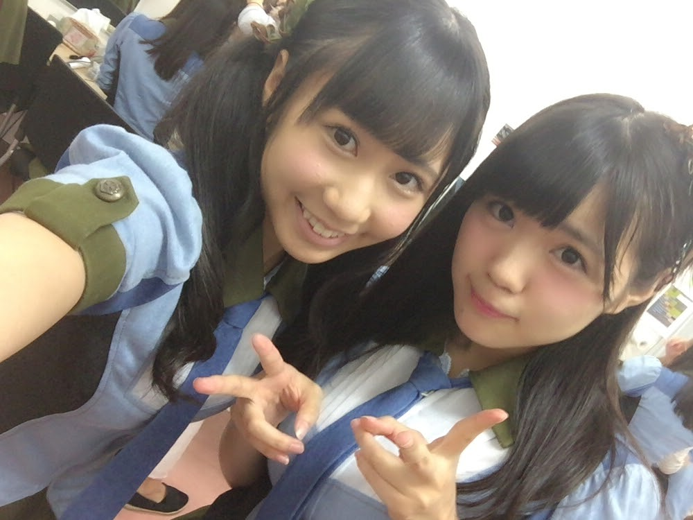 HKT48のJC、田中優香の自撮り画像