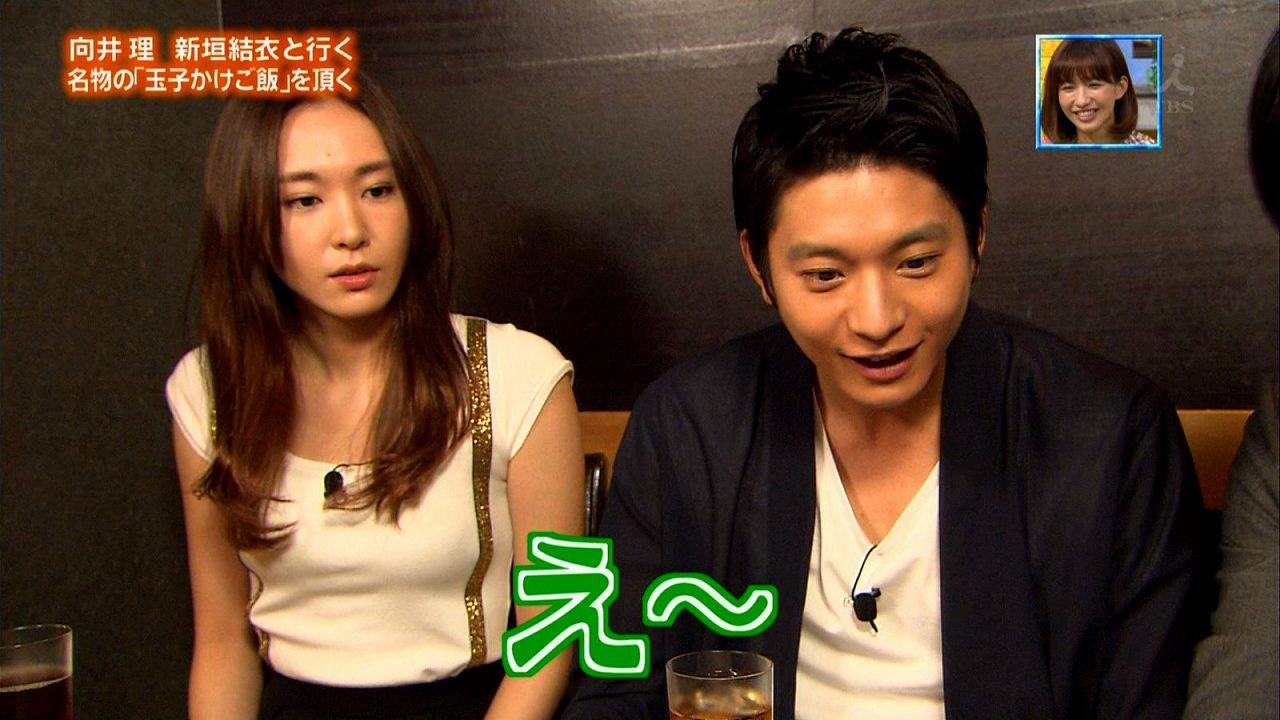 TBS「ぴったんこカン・カン」でおっぱいが強調される衣装を着た新垣結衣