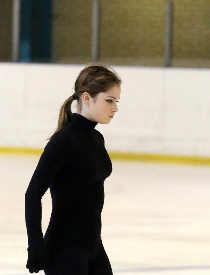 17歳になったユリア・リプニツカヤの着衣おっぱい