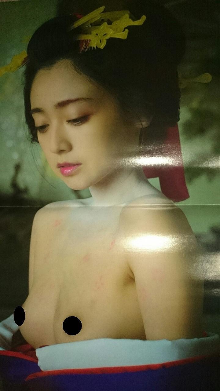 映画『花宵道中』の濡れ場でおっぱい丸出しの安達祐実