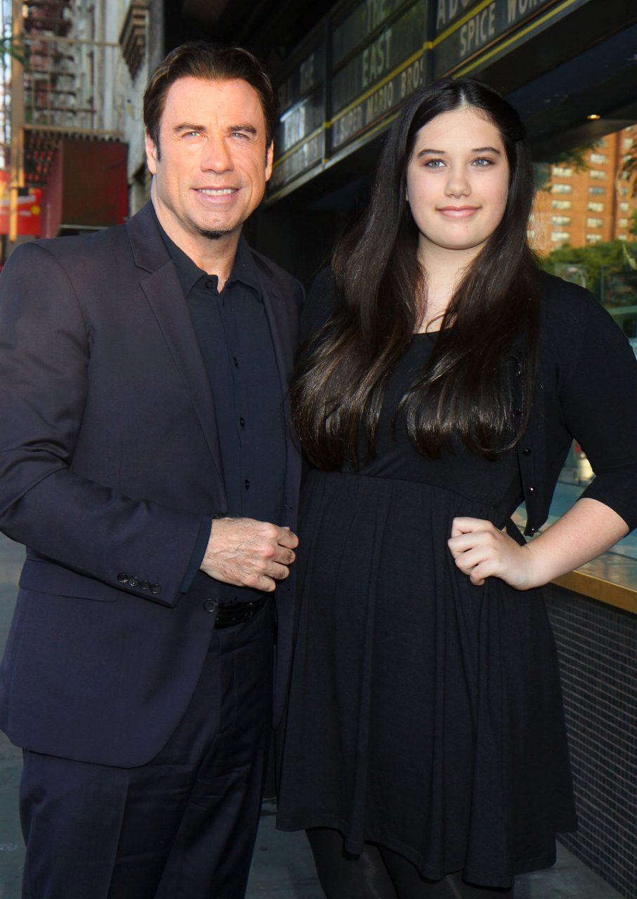 ジョン・トラボルタとジョン・トラボルタの娘(13歳)