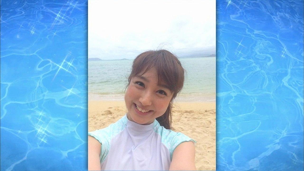 「有吉の夏休み2015密着100時間inハワイFinal」、水着で自撮りした川田裕美アナ