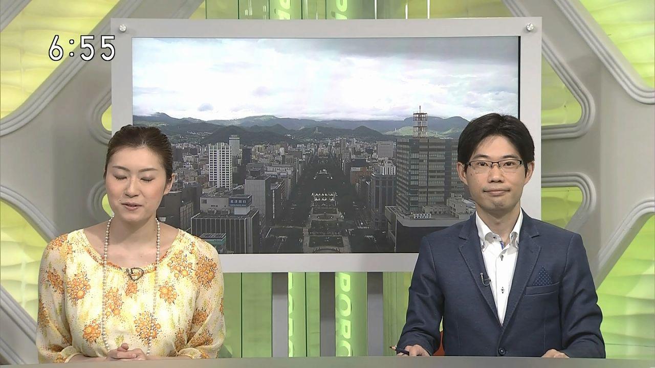 NHK札幌・千葉雅美アナの着衣おっぱい