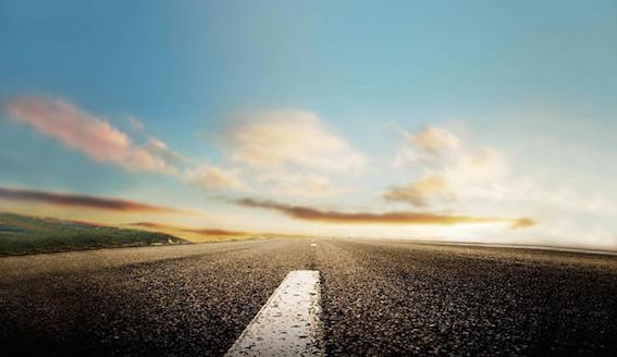 目標に向かう長い道