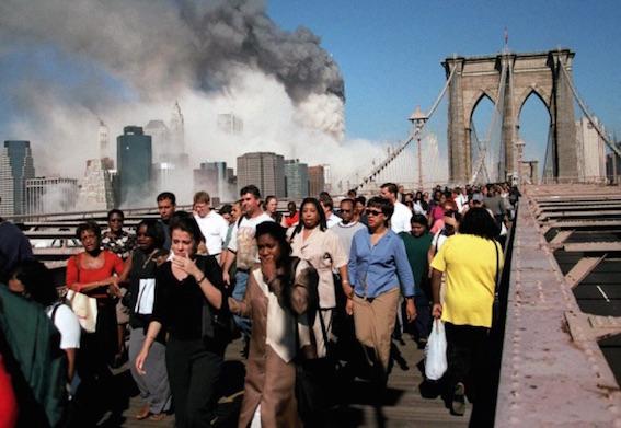 911当日ブルックリン橋