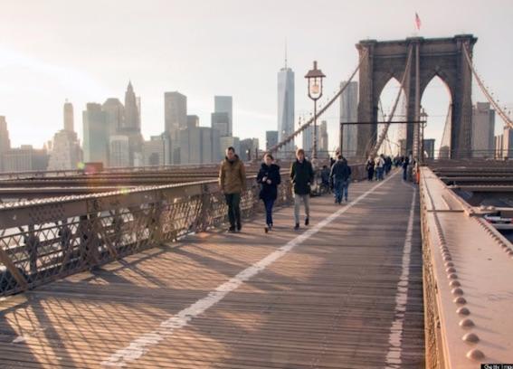 現在のブルックリン橋
