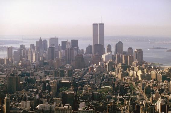 マンハッタンを北から見た写真2000年頃