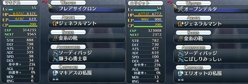 V&C戦装備(マキアス・エリオット)