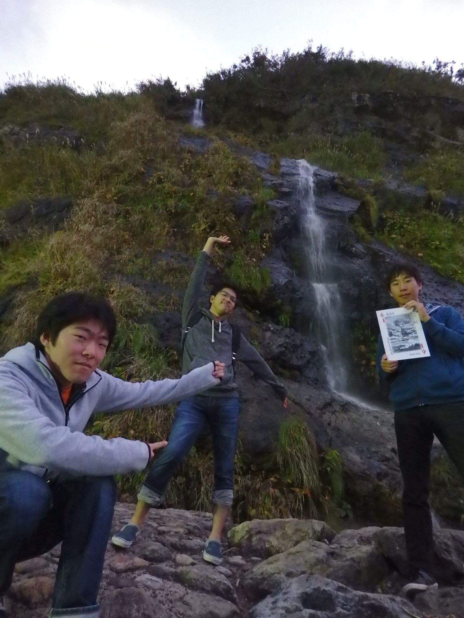飛脚 垂水の滝