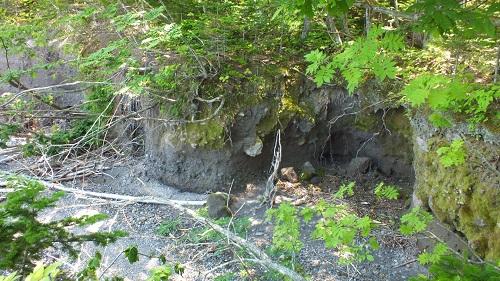 支笏湖 洞窟跡 (2)