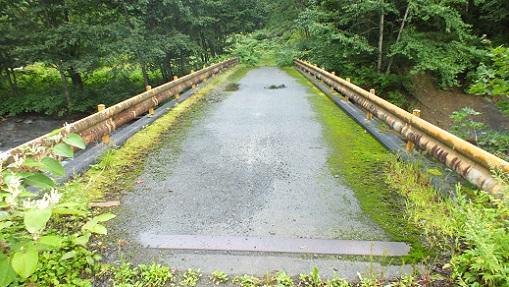 ヌプントムラウシ温泉へ② 沼の原橋(2)