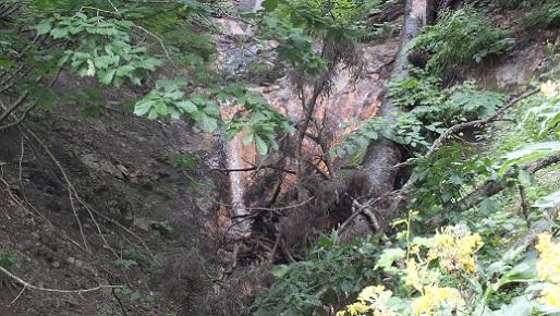 ヌプントムラウシ温泉滝 ③(2)