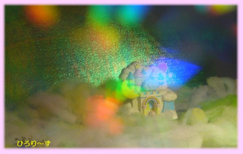 ミニ紙しばい 空に浮かぶ城 4