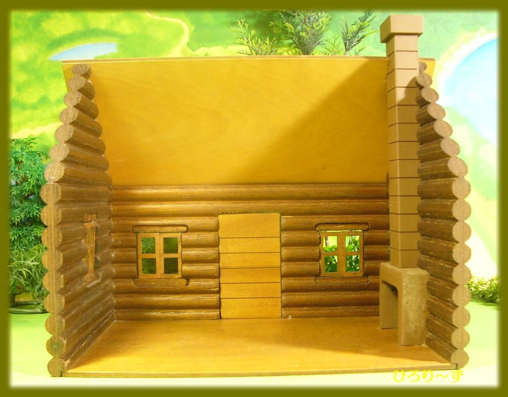 木製丸太小屋 3