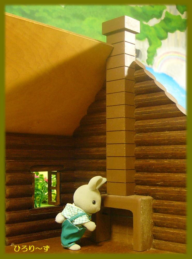 木製丸太小屋 7