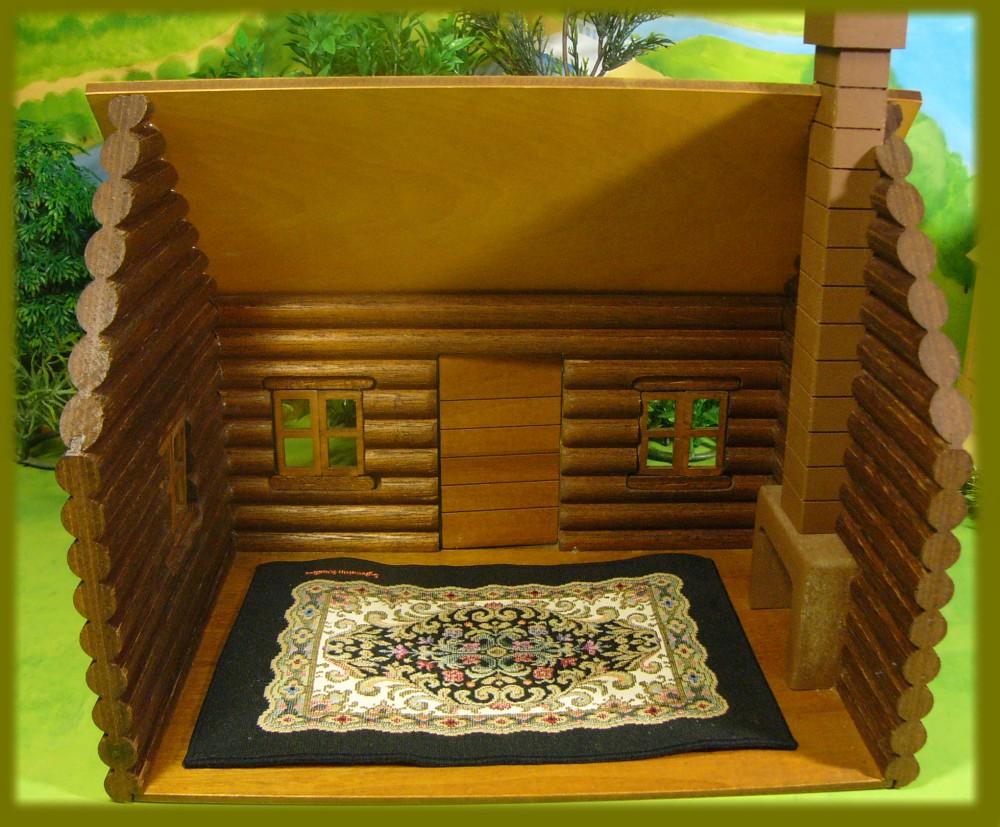 木製丸太小屋 9