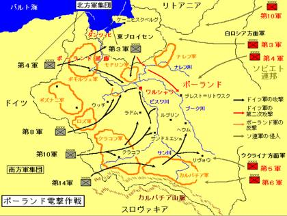 ソビエトによるポーランド侵攻