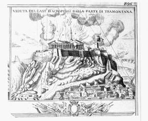 パルテノン神殿砲撃