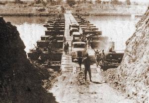 エジプト軍のスエズ運河渡河