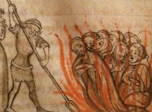 テンプル騎士団火あぶり