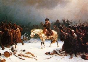 ナポレオンのモスクワ撤退