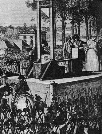 マリー・アントワネットの処刑