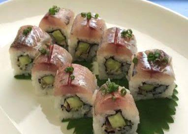 鯵の棒寿司
