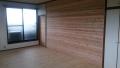 パインフロアと杉壁板